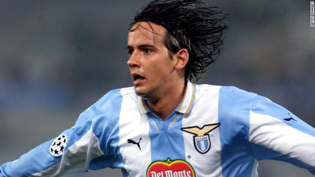 Only Spanish star Raul has bettered Filippo Inzaghi's tally of 70 goals in European competition, but the former Italy striker's less-heralded younger brother Simone is the only member of their family to score four times in a Champions League match. He did it in Lazio's 5-1 win against Marseille in 2000.