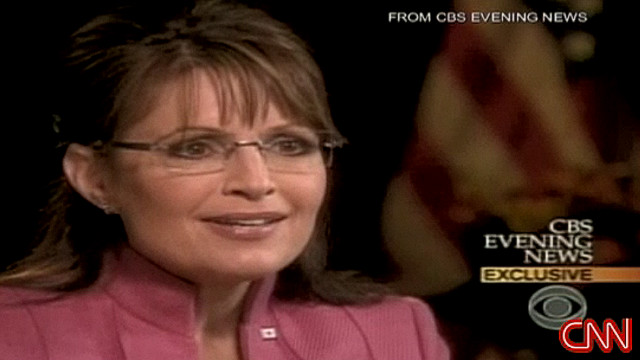 Sarah Palin's 2008 interview with CBS' Katie Couric did not go well for Palin.