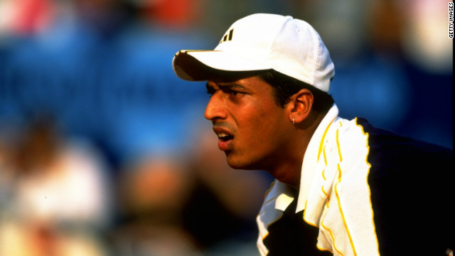 Bhupathi, now 37, turned professional in 1995 and briefly played singles before focusing his attention on doubles.