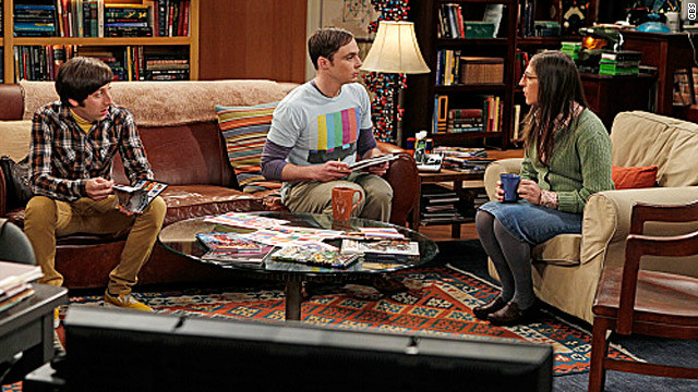 'The Big Bang Theory' causes a scene