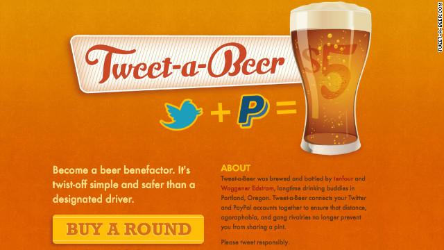 Invítale una cerveza a un amigo con solo un tuit