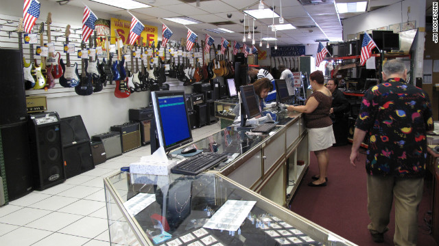 Pawn shops' popularity rises with TV shows, down economy