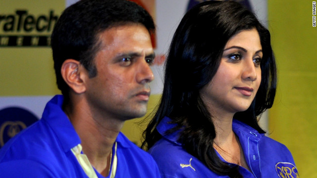 Dravid is contracted to play in the forthcoming Indian Premier League Twenty20 series, where he will represent the Rajsthan Royals. The franchise is partly owned by Bollywood star Shilpa Shetty.