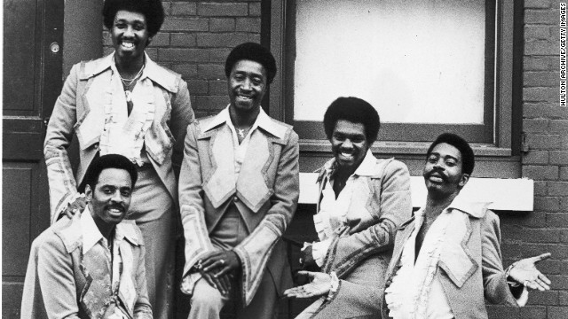 The Trammps in 1973: From left, Earl Young, seated, Harold Wade, Jimmy Ellis, Stanley Wade and Robert Upchurch.