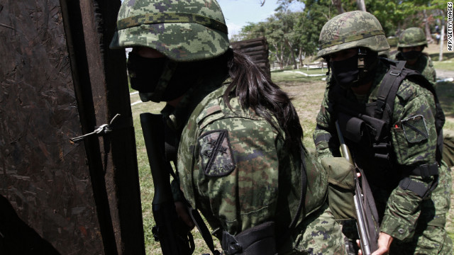 """El Ejército mexicano detiene al presunto jefe de """"Los Zetas"""" en la Comarca Lagunera"""