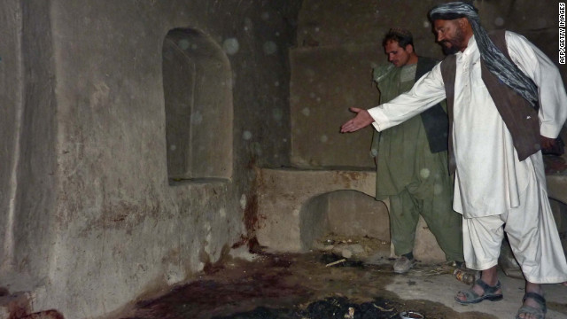 Military could visit Afghan shooting site