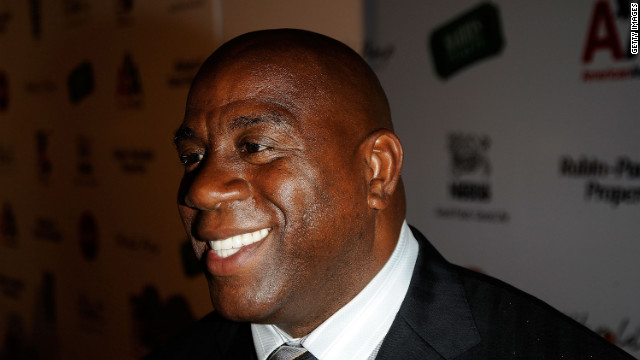 Magic Johnson and 'The Announcement'
