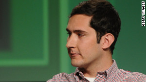 Kevin Systrom, co-founder and CEO of photo-sharing app Instagram.