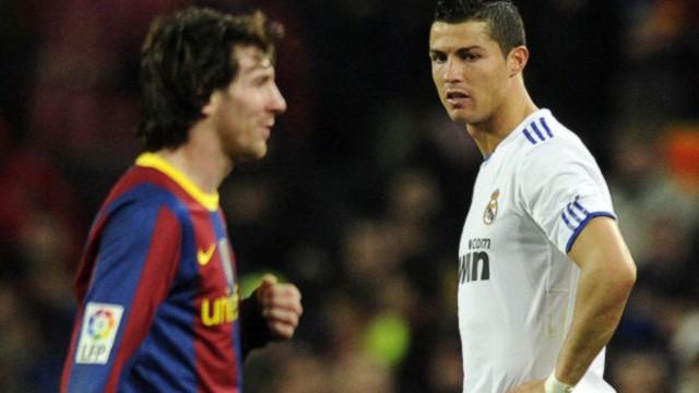 Messi y Ronaldo gol a gol