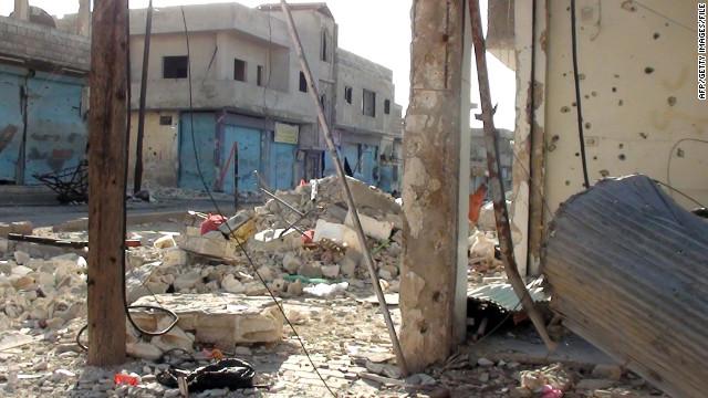 Hallan los cadáveres de 45 mujeres y niños asesinados en la ciudad siria de Homs