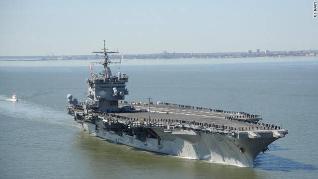 Navy&#039;s legendary carrier USS Enterprise on final voyage