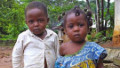 Boy and girl in Djoum