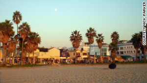The chaotic beachfront boardwalk is alive and well in Venice.