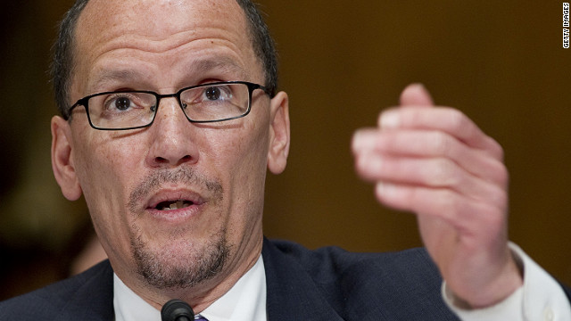 Thomas E. Perez, U.S. assistant attorney general heading the Justice Department's civil rights division, is expected to be President Obama's nominee for the next secretary of the Department of Labor.
