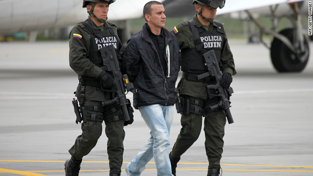 Colombia extradita a EE.UU. a un acusado de secuestrar a tres estadounidenses