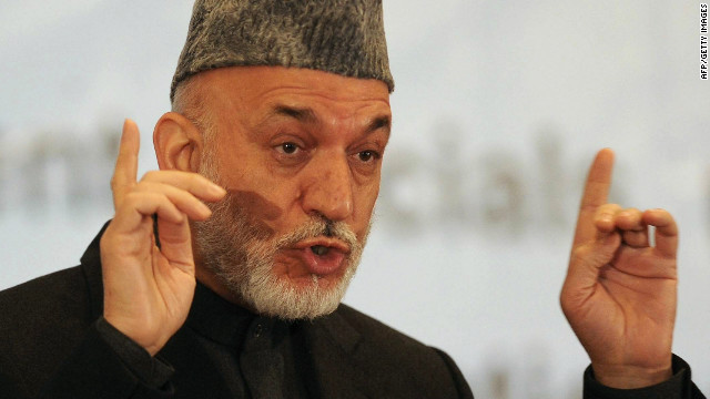 El presidente afgano dice que las tropas de EE.UU. debe dejar puestos de avanzada