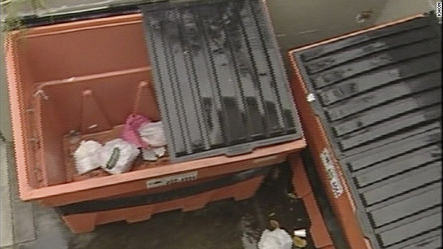 Military experts examine child&#039;s fingers found in trash bin