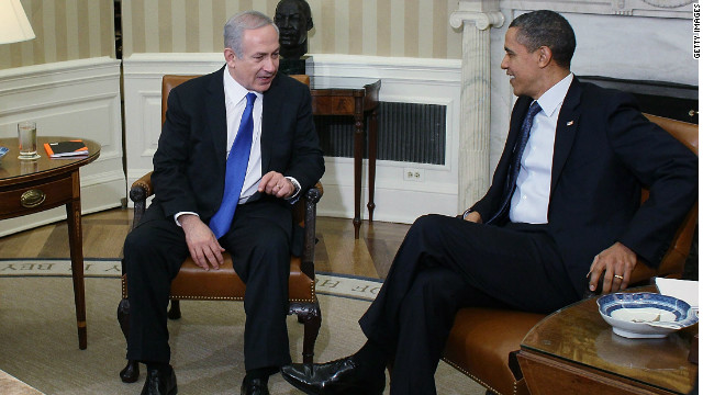 President Barack Obama meets with Israeli Prime Minister Benjamin Netanyahu at the White House on March 5.
