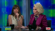 Jane Lynch with Joan and Melissa Rivers