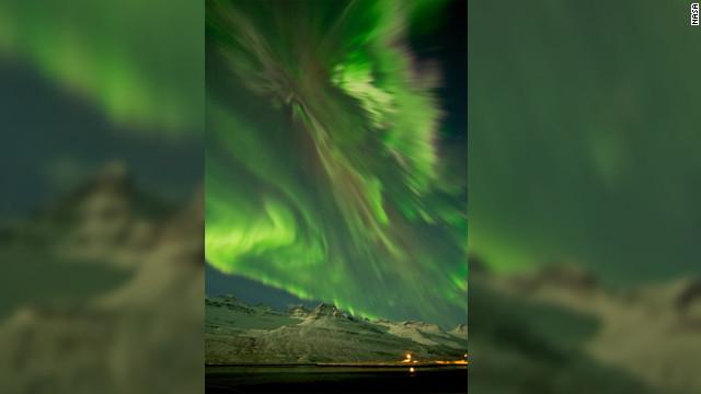 Después de la tormenta... Una espectacular aurora boreal