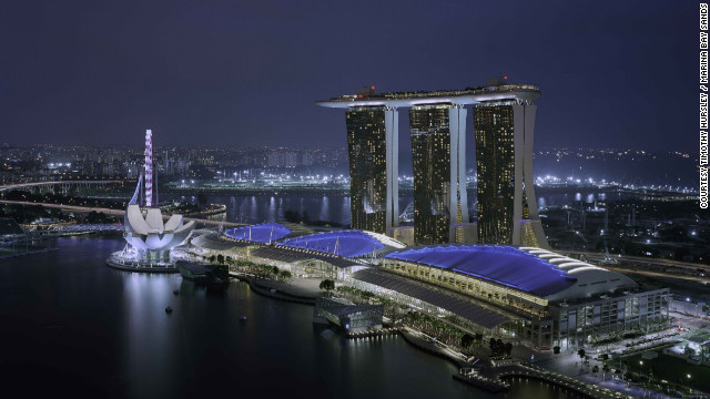 <br/>Marina Bay Sands in Singapore