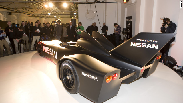 The DeltaWing was designed by Briton Ben Bowlby and was unveiled at a ceremony in London on Tuesday.