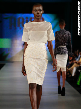 Nigerian designer Amaka Osakwe of Maki Oh was jointly named 