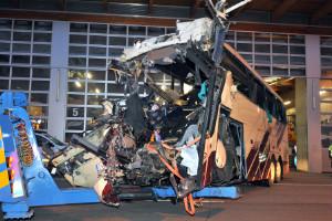 Trágico accidente de autobús en Suiza