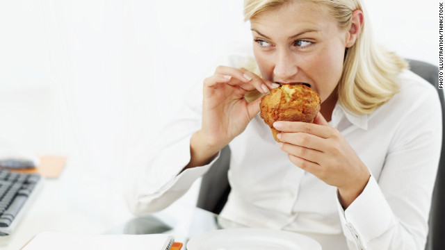 Overeating? Maybe you're burned out at work