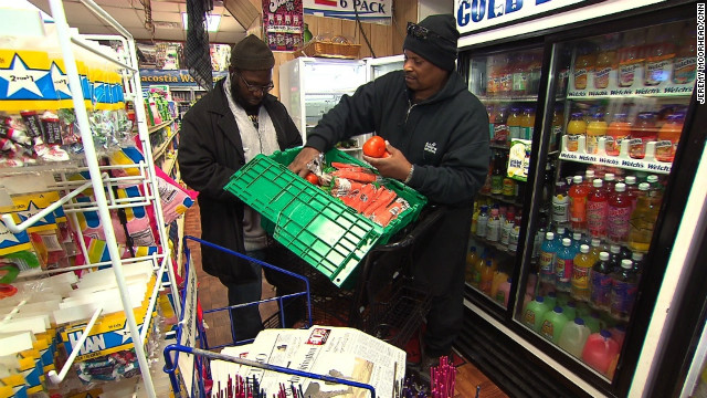 The Capital's food deserts