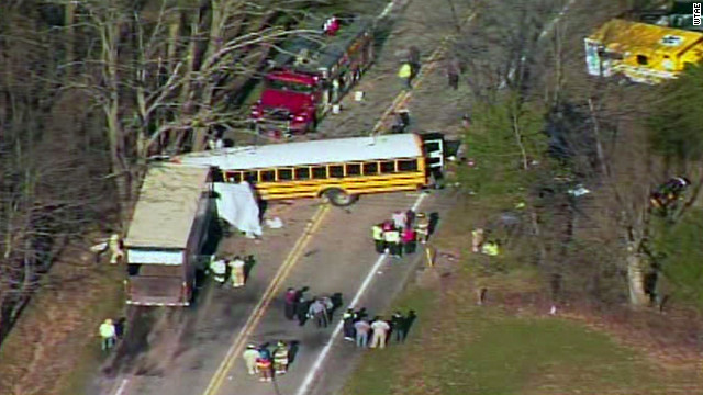 1 killed, dozens injured in Pennsylvania school bus crash