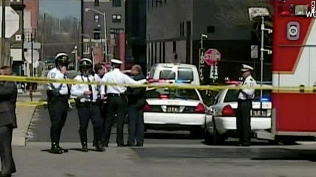 Police: Suspect shot after stabbing four in Columbus, Ohio