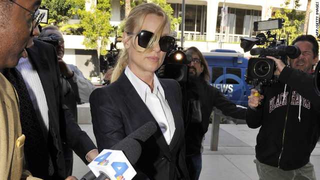 Actress Nicollette Sheridan sued the
