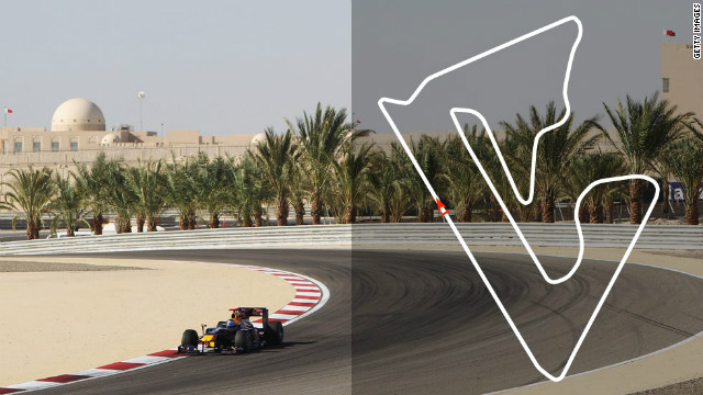 Bahrain Grand Prix: April 22, Sakhir <br/><br/>2012 champion: Sebastian Vettel, Red Bull&#8221; border=&#8221;0&#8243;/><cite style=
