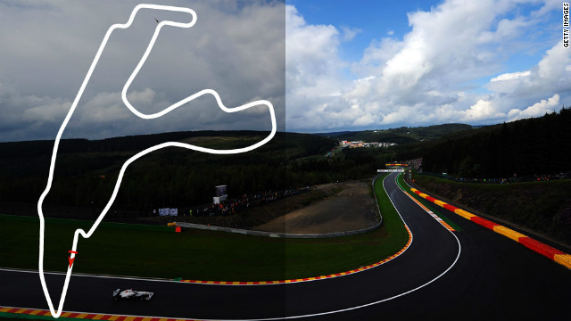 Belgian Grand Prix: September 2, Spa <br/><br/>2012 champion: Jenson Button, McLaren