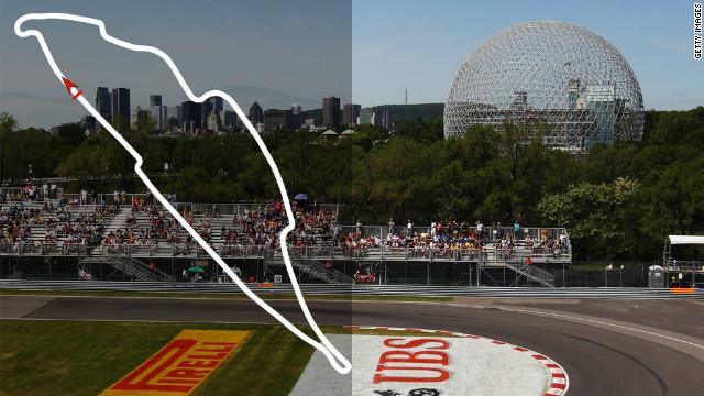 Canadian Grand Prix: June 10, Montreal <br/><br/>2012 champion: Lewis Hamilton, McLaren