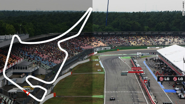 German Grand Prix: July 22, Hockenheim &lt;br/&gt;&lt;br/&gt;Defending champion: Lewis Hamilton, McLaren