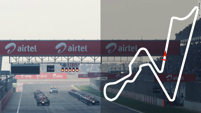 Indian Grand Prix: October 28, New Delhi &lt;br/&gt;&lt;br/&gt;2012 champion: Sebastian Vettel, Red Bull