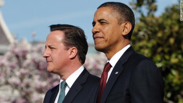 Obama y Cameron defienden su misión en Afganistán y Siria