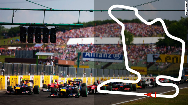 Hungarian Grand Prix: July 29, Budapest &lt;br/&gt;&lt;br/&gt;2012 champion: Lewis Hamilton, McLaren