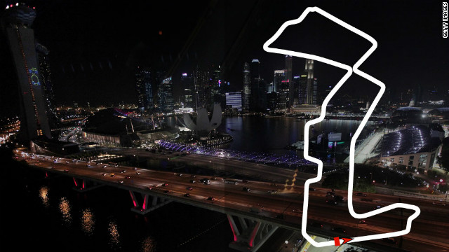 Singapore Grand Prix: September 23, Singapore <br/><br/>2012 champion: Sebastian Vettel, Red Bull
