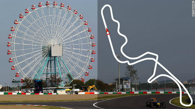 Japanese Grand Prix: October 7, Suzuka <br/><br/>2012 champion: Sebastian Vettel, Red Bull
