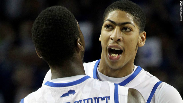 Anthony Davis files trademarks for unibrow phrases ahead of NBA draft