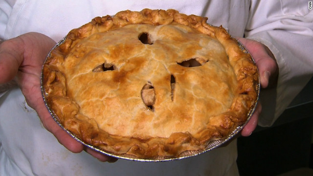 Laid-off producer becomes proud pie maker