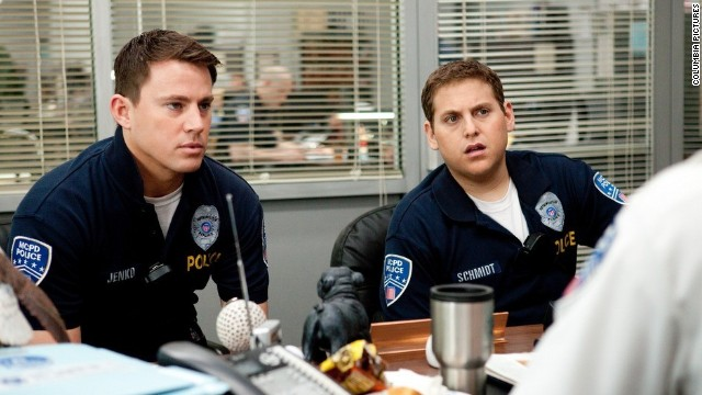 Of the three films Channing Tatum, left, starred in this year, &quot;21 Jump Street&quot; was widely received as a defining moment for the 32-year-old star, who's since been named &lt;a href='http://marquee.blogs.cnn.com/2012/11/14/channing-tatum-named-sexiest-man-alive/?iref=allsearch' target='_blank'&gt;People magazine's sexiest man&lt;/a&gt;. We saw the writing on the wall after this comedy with Jonah Hill arrived, and called&lt;a href='http://www.cnn.com/2012/06/28/showbiz/channing-tatum-magic-mike-career/index.html?iref=allsearch' target='_blank'&gt; 2012 a standout year for the actor.&lt;/a&gt;