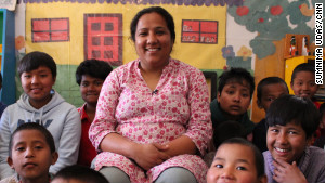 Since 2005, Pushpa Basnet has assisted more than 100 children of incarcerated parents.