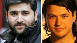 Turkish journalist Adem Ozkose (left) and Hamit Coskun went missing while filming a documentary.