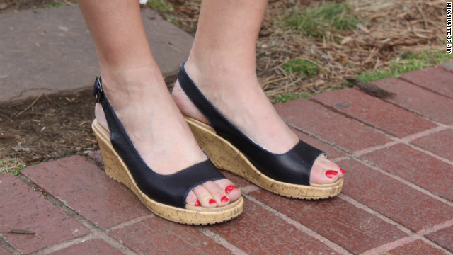"""""""Women are extremely surprised by the fact that these products are Crocs,"""" said Cheng Kue, the company's senior footwear designer. """"But when they wear them, it's the unbelievable experience they have had with their clogs."""""""