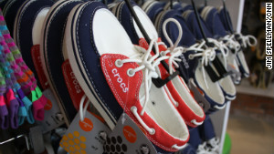 The company is even creating boat shoes (pictured here), sneakers and winter boots.