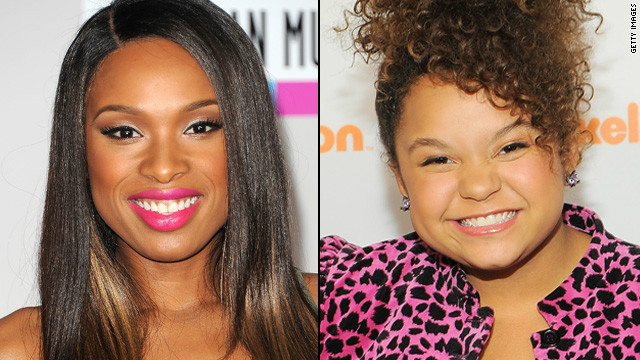 Jennifer Hudson's advice to Rachel Crow
